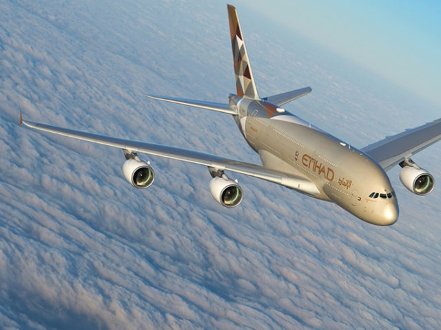 Etihad to upgrade NYC service to all-A380